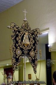 Traslado del Simpecado de la Virgen del Rocío al Altar Mayor 2016 (11)