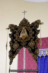 Traslado del Simpecado de la Virgen del Rocío al Altar Mayor 2016 (12)