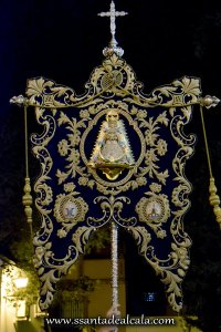 Traslado del Simpecado de la Virgen del Rocío al Altar Mayor 2016 (3)