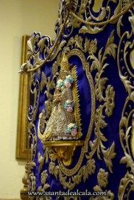 Traslado del Simpecado de la Virgen del Rocío al Altar Mayor 2016 (9)