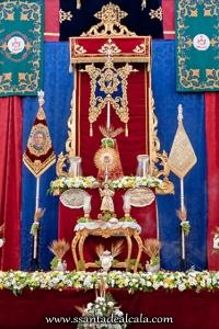 Altar Corpus de la Hermandad del Rosario