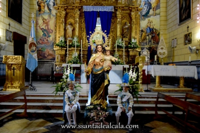 Besamanos a María Auxiliadora Coronada 2016 (1)
