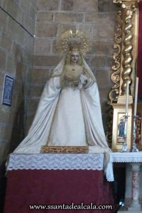 Titulares de la Borriquita en Santiago el Mayor 1