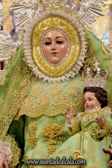 Besamanos a la Virgen de los Ángeles, Consolación y Gracia del Género Humano (17)
