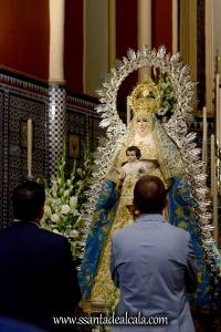 Entrega del llamador del paso de la Virgen del Águila 2016 (1)