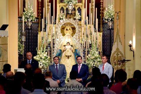 Entrega del llamador del paso de la Virgen del Águila 2016 (2)