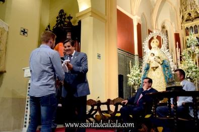 Entrega del llamador del paso de la Virgen del Águila 2016 (6)
