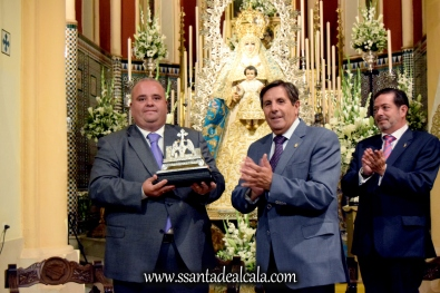 Entrega del llamador del paso de la Virgen del Águila 2016 (7)