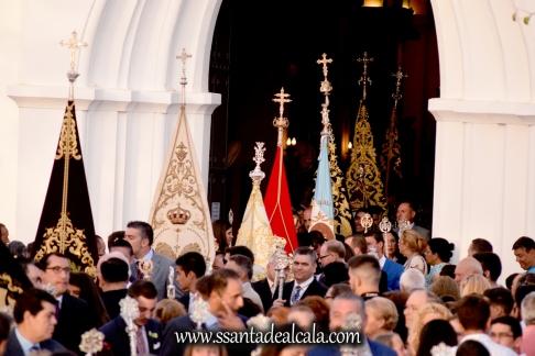 Salida Procesional de la Virgen del Águila Coronada 2016 (1)