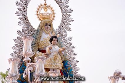 Salida Procesional de la Virgen del Águila Coronada 2016 (11)
