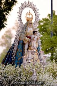 Salida Procesional de la Virgen del Águila Coronada 2016 (13)