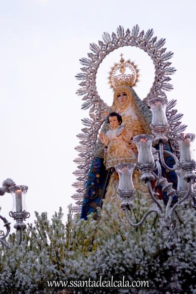 Salida Procesional de la Virgen del Águila Coronada 2016 (15)