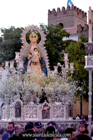 Salida Procesional de la Virgen del Águila Coronada 2016 (16)