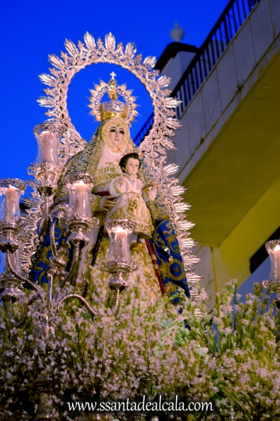 Salida Procesional de la Virgen del Águila Coronada 2016 (17)