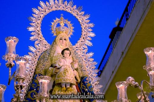 Salida Procesional de la Virgen del Águila Coronada 2016 (18)