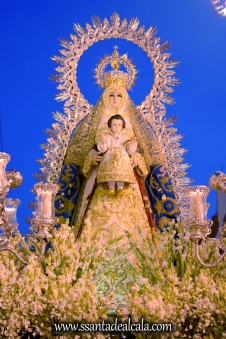 Salida Procesional de la Virgen del Águila Coronada 2016 (19)