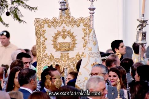Salida Procesional de la Virgen del Águila Coronada 2016 (2)
