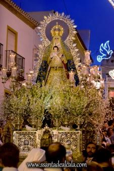 Salida Procesional de la Virgen del Águila Coronada 2016 (20)