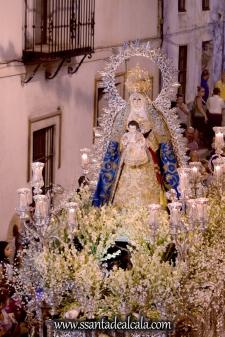 Salida Procesional de la Virgen del Águila Coronada 2016 (21)