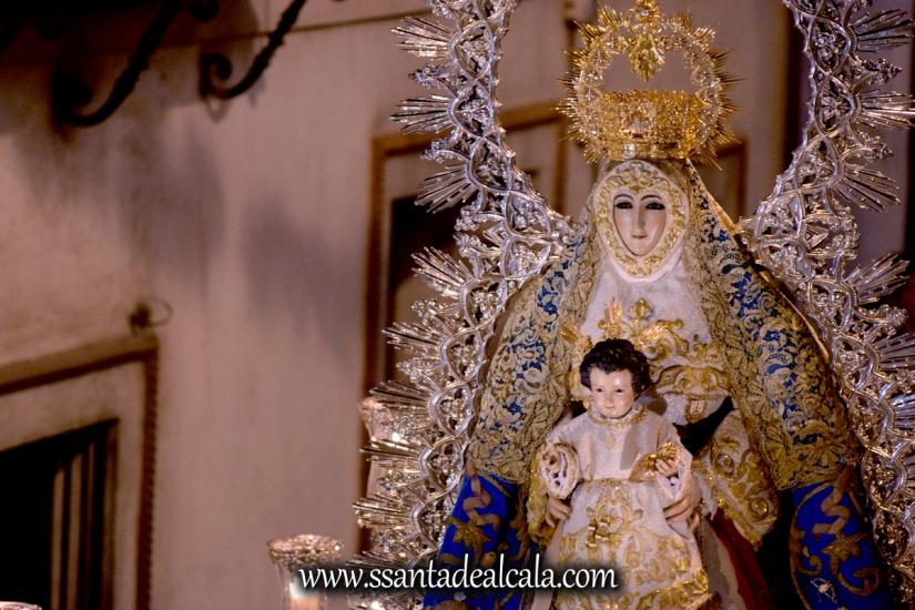 Salida Procesional de la Virgen del Águila Coronada 2016 (22)