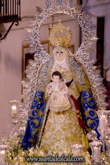 Salida Procesional de la Virgen del Águila Coronada 2016 (23)