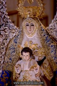 Salida Procesional de la Virgen del Águila Coronada 2016 (24)