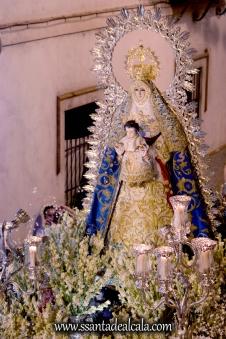 Salida Procesional de la Virgen del Águila Coronada 2016 (25)