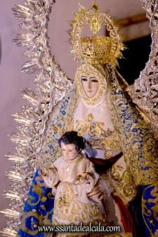 Salida Procesional de la Virgen del Águila Coronada 2016 (26)