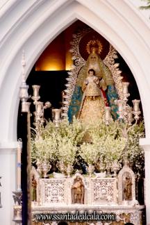 Salida Procesional de la Virgen del Águila Coronada 2016 (3)