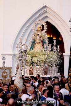 Salida Procesional de la Virgen del Águila Coronada 2016 (4)