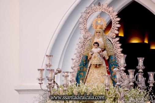 Salida Procesional de la Virgen del Águila Coronada 2016 (5)