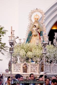 Salida Procesional de la Virgen del Águila Coronada 2016 (6)