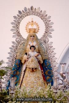 Salida Procesional de la Virgen del Águila Coronada 2016 (7)