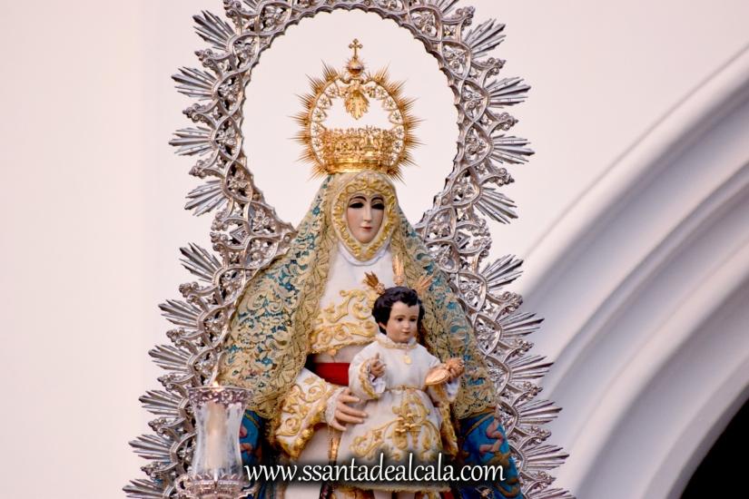 Salida Procesional de la Virgen del Águila Coronada 2016 (8)