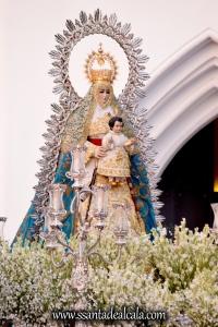 Salida Procesional de la Virgen del Águila Coronada 2016 (9)