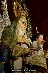 Virgen del Águila en su paso procesional (10)