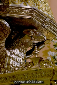 Virgen del Águila en su paso procesional (12)