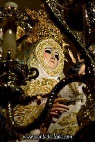 Virgen del Águila en su paso procesional (13)
