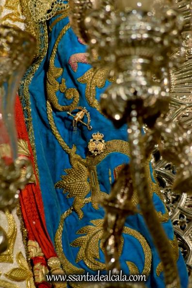 Virgen del Águila en su paso procesional (16)