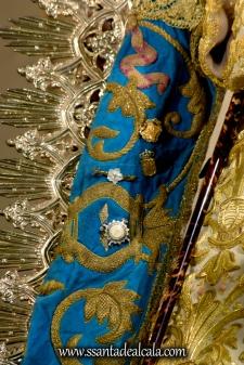 Virgen del Águila en su paso procesional (17)