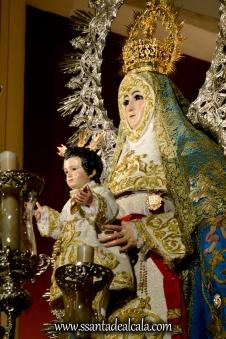 Virgen del Águila en su paso procesional (18)