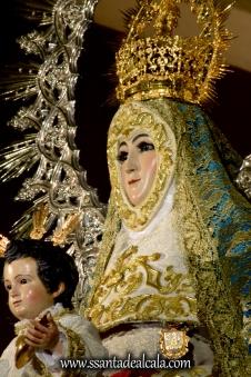 Virgen del Águila en su paso procesional (19)