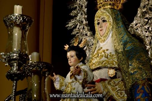 Virgen del Águila en su paso procesional (20)