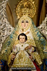 Virgen del Águila en su paso procesional (3)