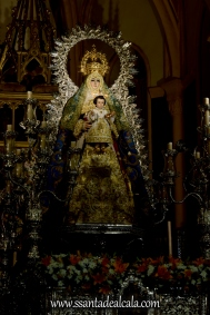 Virgen del Águila en su paso procesional (5)