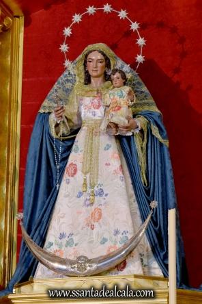Virgen del Rosario en el mes de Agosto 2016 (6)