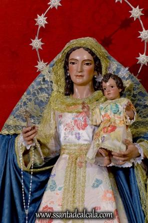 Virgen del Rosario en el mes de Agosto 2016 (7)