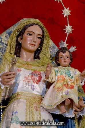 Virgen del Rosario en el mes de Agosto 2016 (9)