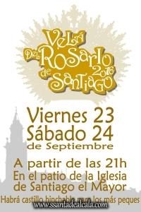Velá del Rosario de Santiago 2016