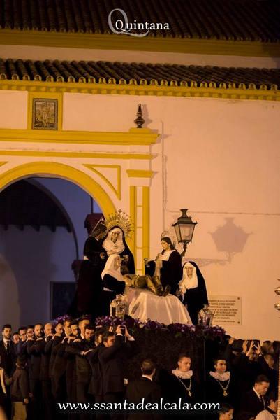 Traslado de regreso de los titulares del Santo Entierro a su Capilla 2017 (1)